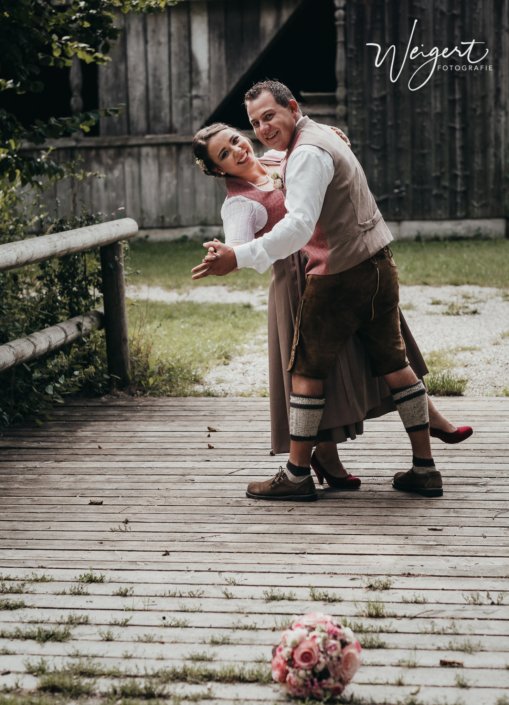 Brautpaarshooting Outdoor